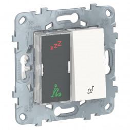 Дисплей гостиничного номера и кнопочный звонок Schneider Electric Unica New NU577718