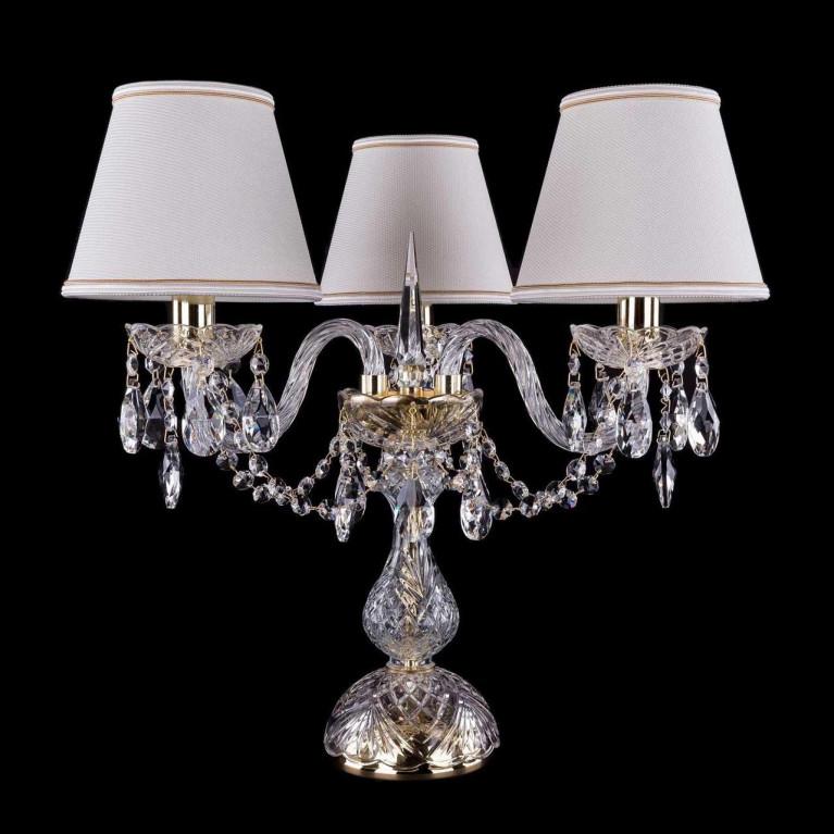 Настольная лампа Bohemia Ivele 1406L/3/141-39/G/SH40a-160