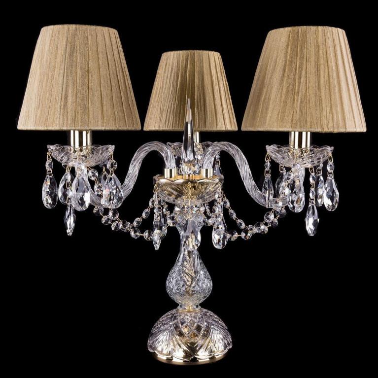Настольная лампа Bohemia Ivele 1406L/3/141-39/G/SH7-160
