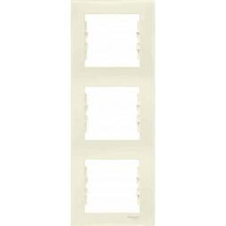 Рамка 3-постовая вертикальная Schneider Electric Sedna SDN5801347