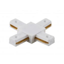 Соединитель X-образный однофазный Crystal Lux CLT 0.211 04 WH