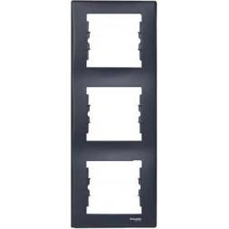 Рамка 3-постовая вертикальная Schneider Electric Sedna SDN5801370