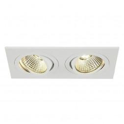 Встраиваемый светодиодный светильник SLV New Tria Led 2 Square Set 113891