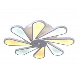 Потолочная светодиодная люстра Kink Light Ромашка 08178