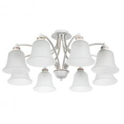 Потолочная люстра Arte Lamp Emma A2713PL-8WG