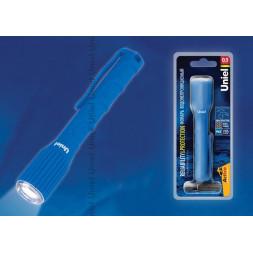 Ручной светодиодный фонарь Uniel (08331) от батареек 125х21 17 лм S-WP010-С Blue