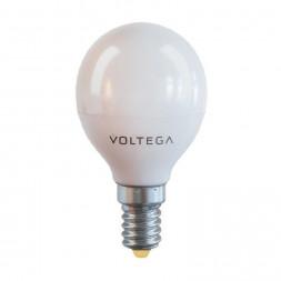 Лампа светодиодная E14 7W 2800К матовая VG2-G45E14warm7W 7054
