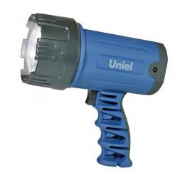Фонарь-прожектор светодиодный Uniel (06030) аккумуляторный 150 лм S-SL016-BB Blue
