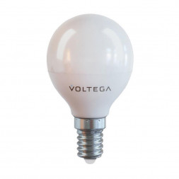 Лампа светодиодная E14 7W 4000К матовая VG2-G45E14cold7W 7055