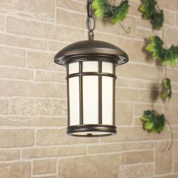 Уличный подвесной светильник Elektrostandard Lepus H кофейное золото GL 1016H 4690389135996