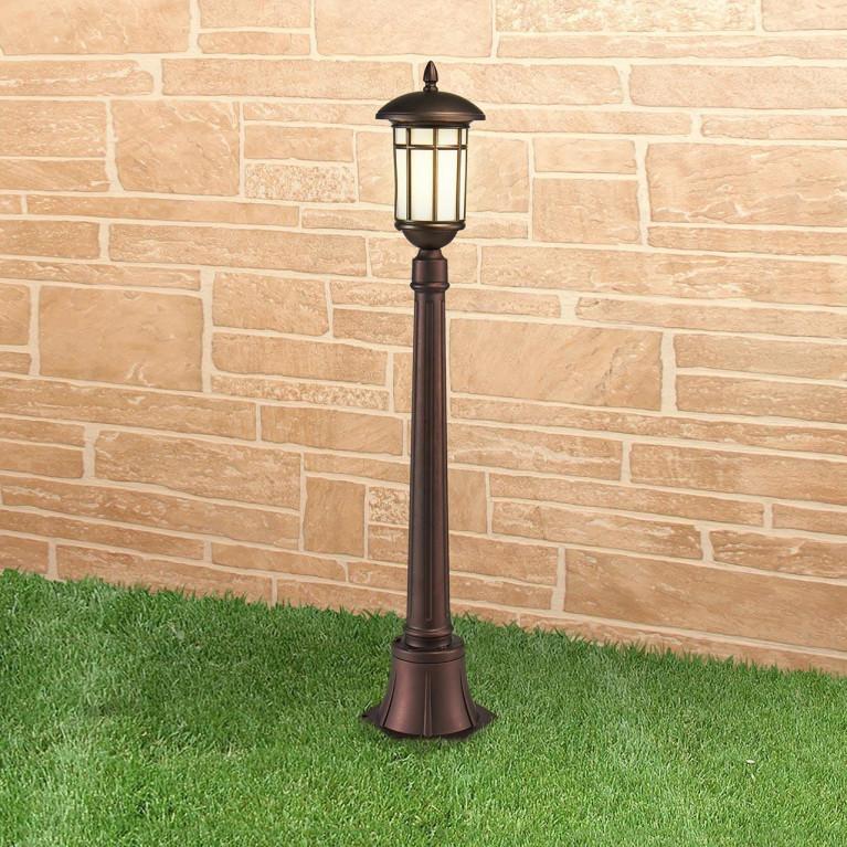 Уличный светильник Elektrostandard Lepus F кофейное золото GL 1016F 4690389135989