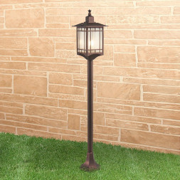 Уличный светильник Elektrostandard Vela F кофейное золото GL 1019F 4690389136016