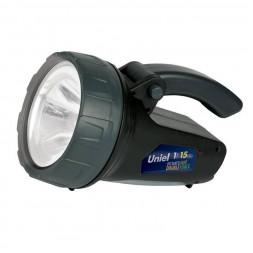 Фонарь-прожектор светодиодный Uniel (06649) аккумуляторный 90 лм S-SL017-BA Black