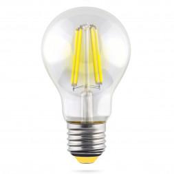 Лампа светодиодная филаментная E27 10W 2800К прозрачная VG10-А1E27warm10W-F 7102