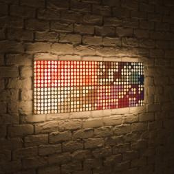 Лайтбокс панорамный Сигналы 60x180-p025