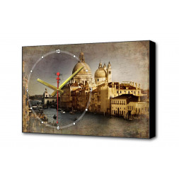 Настенные часы Венеция III Timebox Toplight 37х60х4см TL-C5014