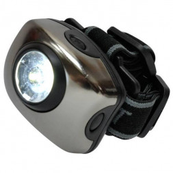 Фонарь (03212) Uniel Standart «Bright eyes — comfort» S-HL011-C Gun Metal