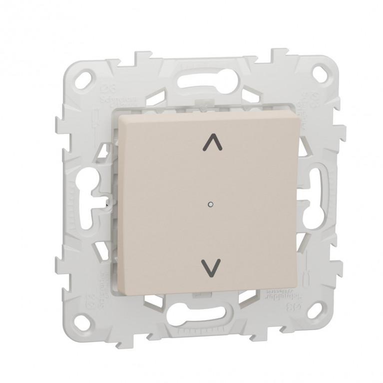 Выключатель Wiser управление жалюзи Schneider Electric Unica New NU550844