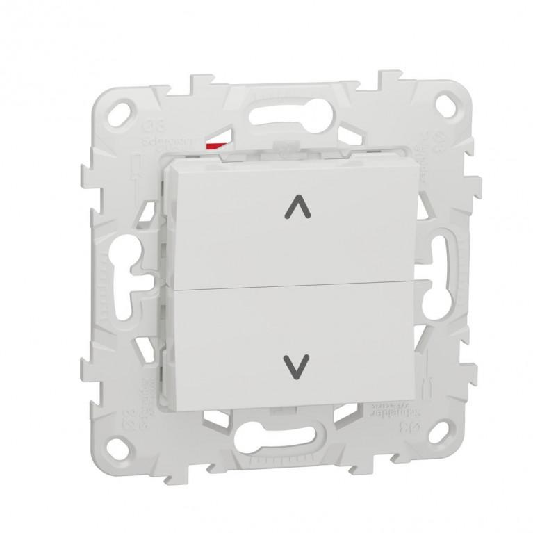 Выключатель двухклавишный Schneider Electric Unica New NU520718