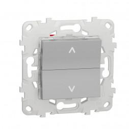 Выключатель двухклавишный Schneider Electric Unica New NU520730