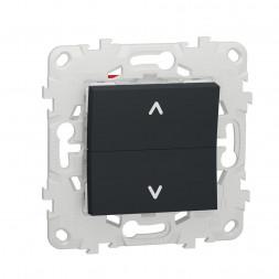 Выключатель двухклавишный Schneider Electric Unica New NU520754
