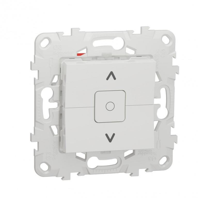 Выключатель двухклавишный Schneider Electric Unica New NU520818