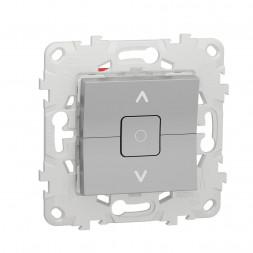 Выключатель двухклавишный Schneider Electric Unica New NU520830