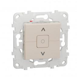 Выключатель двухклавишный Schneider Electric Unica New NU520844