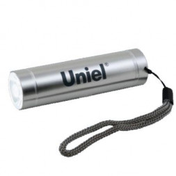 Карманный светодиодный фонарь Uniel (UL-00000191) от батареек 88х24 50 лм S-LD043-B Silver