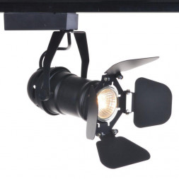 Трековый светильник Arte Lamp Track Lights A5319PL-1BK