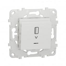 Выключатель карточный Schneider Electric Unica New NU528318