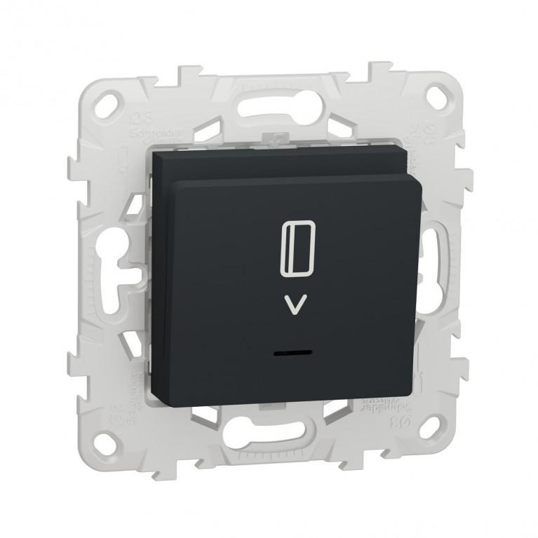 Выключатель карточный Schneider Electric Unica New NU528354