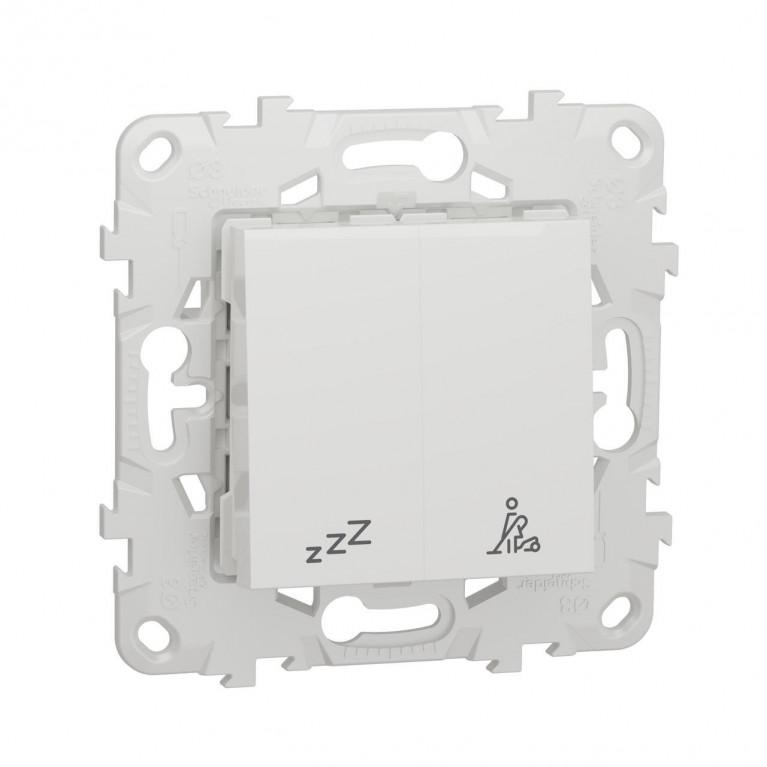 Выключатель кнопочный Schneider Electric Unica New NU521718
