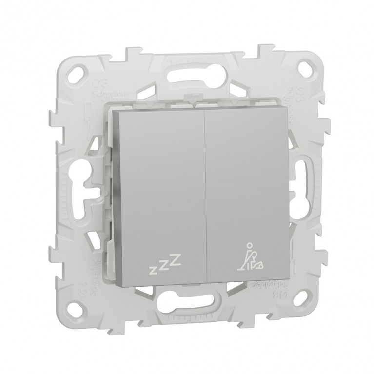 Выключатель кнопочный Schneider Electric Unica New NU521730
