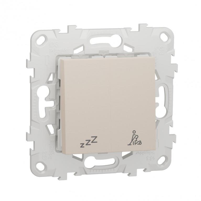Выключатель кнопочный Schneider Electric Unica New NU521744