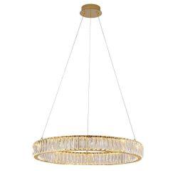 Подвесной светодиодный светильник Newport 8241/S gold М0064001