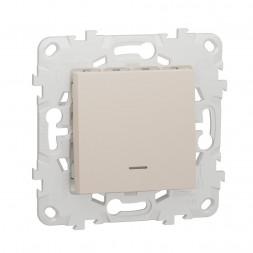 Выключатель одноклавишный Schneider Electric Unica New NU520644N