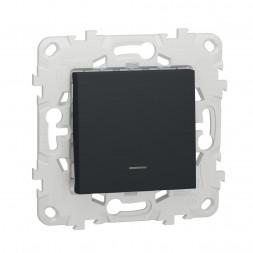 Выключатель одноклавишный Schneider Electric Unica New NU520654N