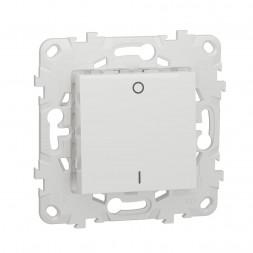 Выключатель одноклавишный Schneider Electric Unica New NU526218