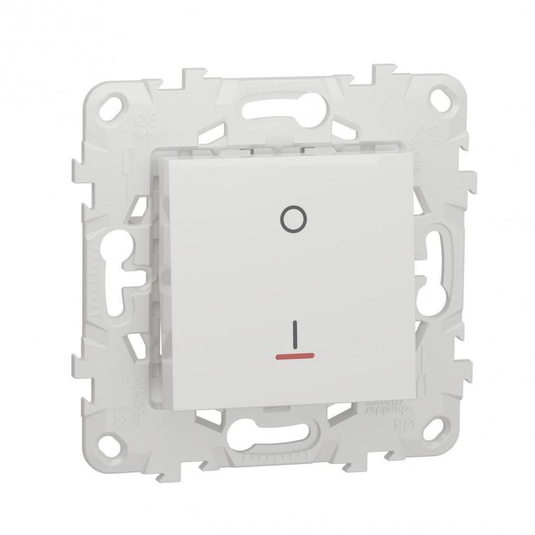 Выключатель одноклавишный Schneider Electric Unica New NU526218S