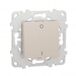 Выключатель одноклавишный Schneider Electric Unica New NU526244