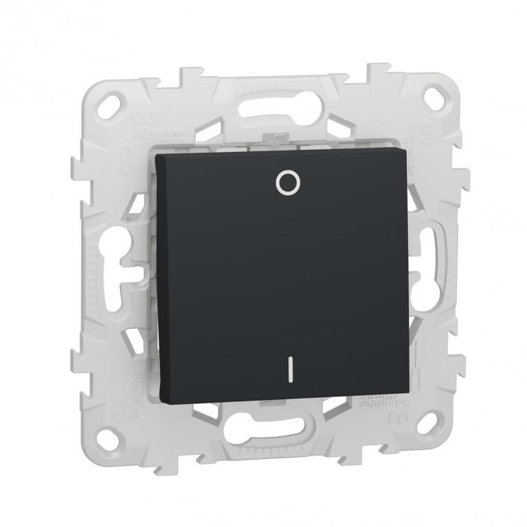 Выключатель одноклавишный Schneider Electric Unica New NU526254