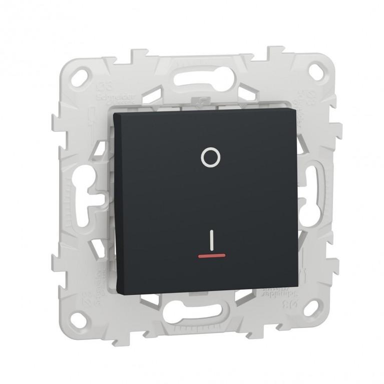 Выключатель одноклавишный Schneider Electric Unica New NU526254S