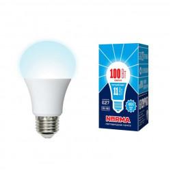 Лампа светодиодная (UL-00003786) E27 11W 4000K матовая LED-A60-11W/NW/E27/FR/NR