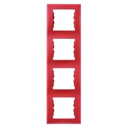 Рамка 4-постовая вертикальная Schneider Electric Sedna SDN5802041