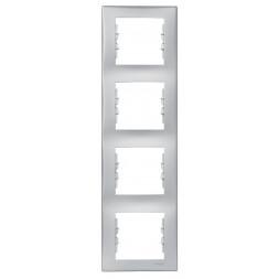 Рамка 4-постовая вертикальная Schneider Electric Sedna SDN5802060