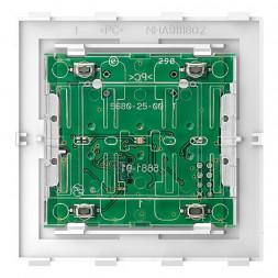 Кнопочный модуль Schneider Electric Merten D-Life PlusLink Wiser BLE двухклавишный MTN5123-6000