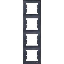 Рамка 4-постовая вертикальная Schneider Electric Sedna SDN5802070