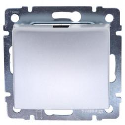 Выключатель карточный Legrand Valena с выдержкой времени алюминий 770235
