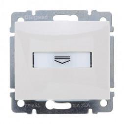 Выключатель карточный Legrand Valena с выдержкой времени и подсветкой белый 774234